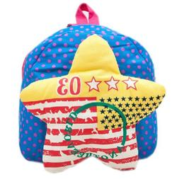BLUE Star Infant Lovely Knapsack Cute Baby Bag Toddler Backp