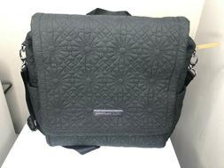 Petunia Pickle Bottom Boxy Backpack/Shoulder Diaper Bag Gray
