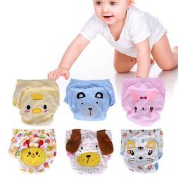 Boy Girl Baby Soft Training Cloth Diaper Pants Infant Toddle