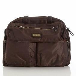 Carter's Brown Duffle Diaper Tote Bag