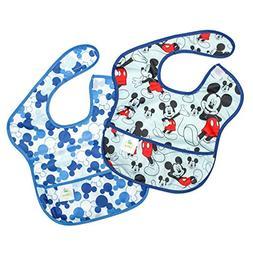 Bumkins Disney Mickey Mouse SuperBib, Baby Bib, Waterproof,
