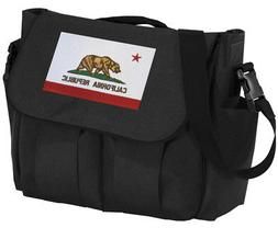 California Flag Diaper Bag UNIQUE Baby Bags For New Dad or N