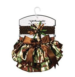 Stephan Baby® Camo Headband and Diaper Cover Set
