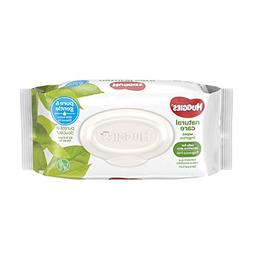 HUGGIES Natural Care Unscented Baby Wipes, Sensitive, 8 Flip