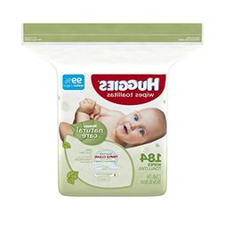Huggies Natural Care Baby Wipes, Refill Pack , Fragrance-fre
