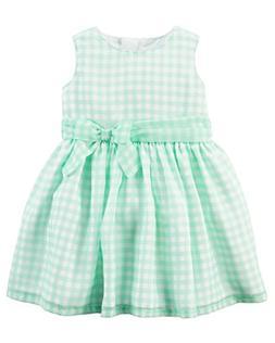 Carter's Baby Girls' Striped Bow Dress 12 Months