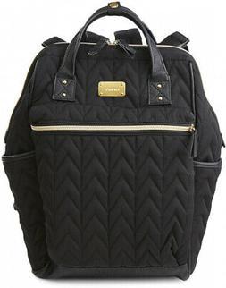 carter's Mini-Convertible Backpack Diaper Bag in Black