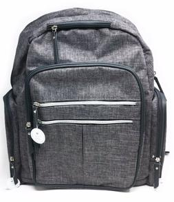 Carter's on the Move Backpack Diaper Bag, Gray