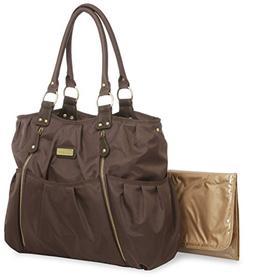 Carter's Zip Front Fashion Tote Diaper Bag