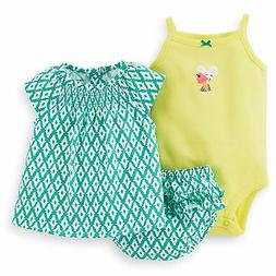 Carters 3 Piece Diaper Set Newborn 9 12 18 or 24 Months Baby