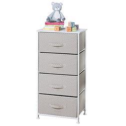 chevron fabric baby 4 drawer