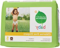 Seventh Generation Chlorine Free Diapers, Stage 5 27+ lbs. 1