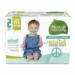 Seventh Generation Baby Diaper Size 5 - 23 Count