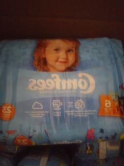 Comfees Baby Diapers Size 6, Over 35 lbs. CMF size 6  161/Ca