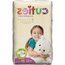 Cuties Complete Care Baby Diaper, SIZE 6, 35+ lbs., CCC06 -
