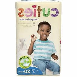 Cuties Complete Care Baby Diapers, Size 7, 20 Count