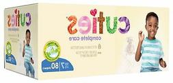 Cuties Complete Care Baby Diapers, Size 7, 80 Count New