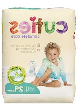 Cuties Complete Care Baby Diaper, Size 4, 22 to 37 lbs, CCC0