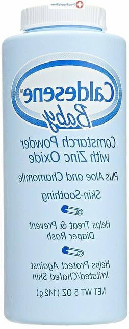 Caldesene Baby Powder with Corn Starch & Zinc Oxide | 5 oz.