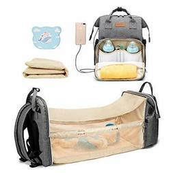 Cosy Casa Baby Diaper Bag Backpack with Travel Bassinet Chan
