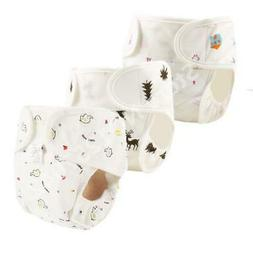 Cotton Baby Diaper Reusable Washable Cloth Diapers Waterproo