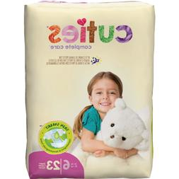 Cuties CR6001 First Quality Baby Tab Closure Diaper, Size 6