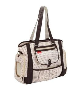 Brown Polka Dot Baby Boy Girl Diaper Bag & Portable Changing