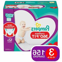 Pampers Cruisers Baby Diapers 360 Fit Size 3, 4, 5, 6 CHEAP!