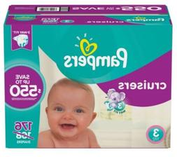 Pampers Cruisers Baby Diapers Sizes 3, 4, 5 and 6