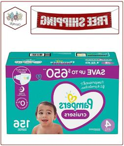 Pampers Cruisers Diapers 4 - 156 ct.