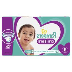 Pampers Cruisers Diapers Size 4, 124 Count