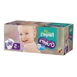 Pampers Cruisers Diapers Value Pack Size 5, 96 Count