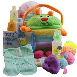 Cuddly Cutie Bug Baby Neutral Boy or Girl Gift Basket