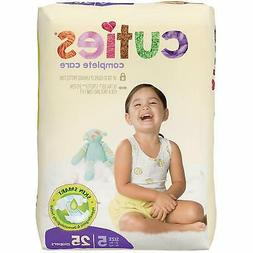 Cuties Complete Care Baby Diapers, Size 5 - 25 ea