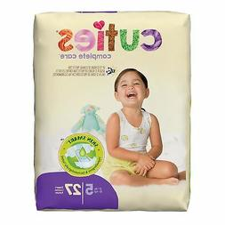 Cuties Baby Disposable Hypoallergenic Diapers - Size 5 - Ove