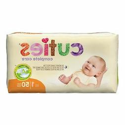Cuties Hypoallergenic Baby Diapers - Disposable - Size 1 - 8