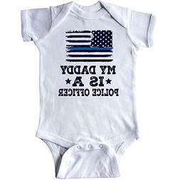 inktastic - Daddy is A Police Officer Infant Creeper Newborn