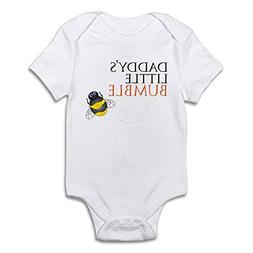 CafePress Daddy's Bumble Bee Cute Infant Bodysuit Baby Rompe