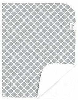 NEW Kushies Baby Deluxe Change Pad Grey Lattice FREE SHIPPIN