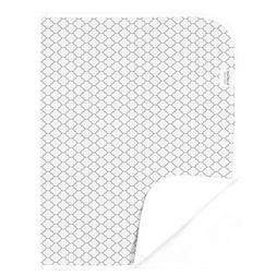 Kushies Baby Deluxe White/Gray Change Pad