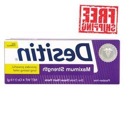 DESITIN Zinc Oxide Diaper Rash Paste, Maximum Strength, 4 oz