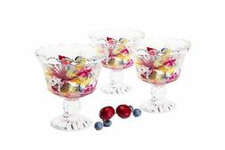 Dessert  Ice cream cups Mini trifle bowls,salad fruit dish 6