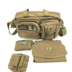 Tactical Baby Gear Deuce 2.0 Tactical Diaper Bag Coyote Brow