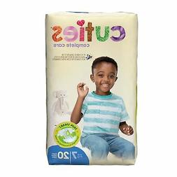 Cuties Essential Baby Diaper Size 7 Over 41 lbs. CRD701 80 C