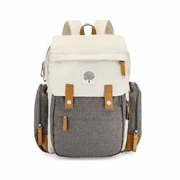 Parker Baby Diaper Backpack - Large Diaper Bag with Insulate