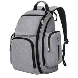 Diaper Backpack, Large Travel Multifunction Waterproof Bab
