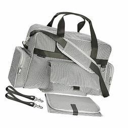Diaper Bag | Baby Tote Bags | Waterproof | Unisex | Gray and