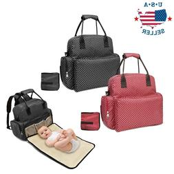 Diaper Bag Backpack Baby Nappy For Girls Boys Fashionable La