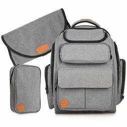 Large Baby Diaper Bag Backpack: Travel Bags for a Boy or Gir