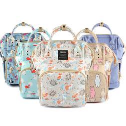 Diaper Bag Backpack For Moms Travel Waterproof Large Capacit